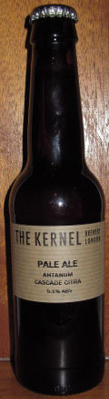 The Kernel Pale Ale Ahtanum Cascade Citra - American Pale Ale