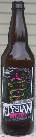 Elysian 12 Beers of Apocalypse #11 - Mortis: Sour Persimmon Ale - Sour Ale/Wild Ale