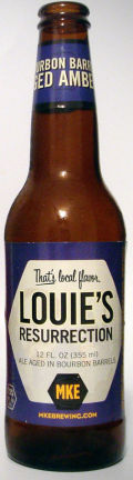Milwaukee Brewing Louies Resurrection  - Amber Ale