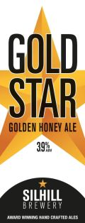 Silhill 3.9% Gold Star - Golden Ale/Blond Ale