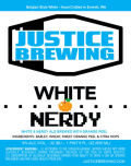 Justice White & Nerdy - Belgian White &#40;Witbier&#41;