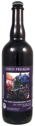 Cisco Island Reserve Pedaler Blueblerry Bleer - Fruit Beer