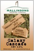 Mallinsons Galaxy Cascade - American Pale Ale