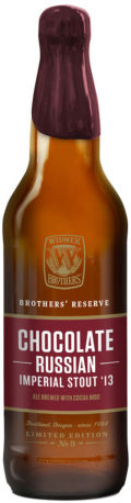 Widmer Brothers Reserve Chocolate Russian Imperial Stout - Imperial Stout