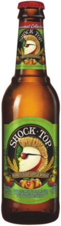 Shock Top Honeycrisp Apple Wheat - Fruit Beer