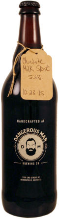 Dangerous Man Chocolate Milk Stout - Sweet Stout