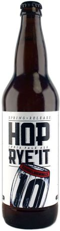 10 Barrel Hop Ryeit - Specialty Grain