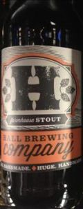 Hall Farmhouse Stout - Stout