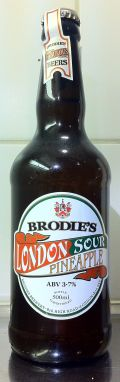 Brodies London Sour &#40;Pineapple Edition&#41; - Sour Ale/Wild Ale