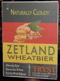 Tryst Zetland Wheat Bier &#40;Sweet Ginger&#41; - German Hefeweizen