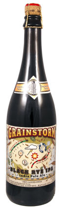 Boulevard Smokestack Series - Grainstorm Black Rye IPA - Black IPA