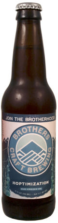 Three Brothers Hoptimization IPA - India Pale Ale &#40;IPA&#41;