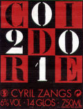 Cyril Zangs Cidre 2010 - Cider
