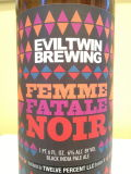 Evil Twin Femme Fatale Noir - Black IPA