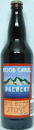 Hood Canal Big Beef Stout - Sweet Stout