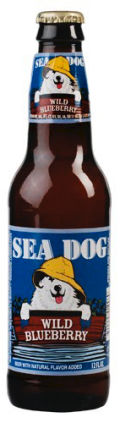 Sea Dog Blue Paw Wild Blueberry Wheat Ale - Fruit Beer