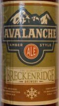 Breckenridge Avalanche Amber - Amber Ale