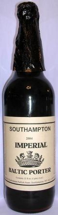 Southampton Imperial Porter  - Baltic Porter