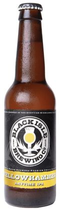 Black Isle Organic Yellowhammer Bitter - Golden Ale/Blond Ale