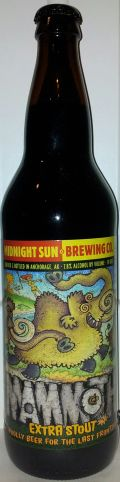 Midnight Sun Mammoth Extra Stout - Foreign Stout