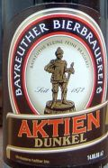 Bayreuther Aktien Dunkel - Dunkel/Tmav