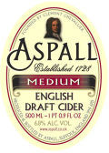 Aspall Medium Suffolk Cyder - Cider