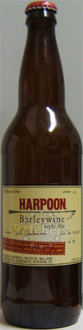 Harpoon 100 Barrel Series #04 - Barleywine - Barley Wine
