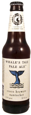 Cisco Whales Tale Pale Ale - English Pale Ale