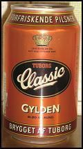 Tuborg Classic Gylden - Amber Lager/Vienna