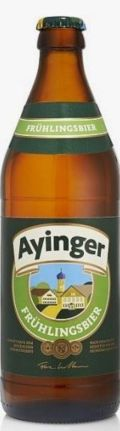 Ayinger Frhlingsbier - Zwickel/Keller/Landbier