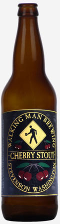 Walking Man Black Cherry Stout - Stout
