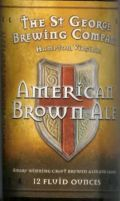 St. George American Brown Ale - Brown Ale