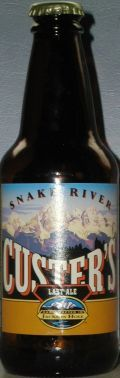Snake River Custers Last Ale - English Pale Ale