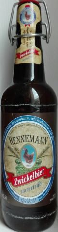 Hennemann Zwicklbier Naturtrb - Zwickel/Keller/Landbier