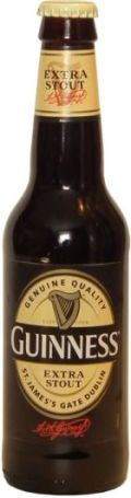 Guinness Extra Stout &#40;Continental Europe&#41; - Dry Stout