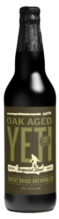 Great Divide Oak Aged Yeti Imperial Stout    - Imperial Stout