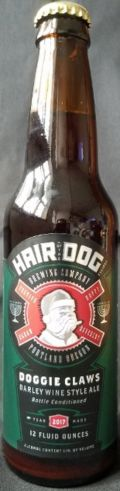 Hair of the Dog Doggie Claws &#40;2003-&#41; - Barley Wine