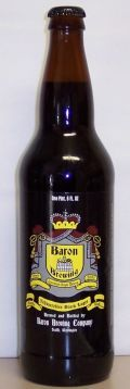 Baron Schwarzbier - Schwarzbier