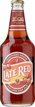 Shepherd Neame Late Red &#40;Bottle&#41; - Premium Bitter/ESB