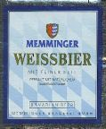 Memminger Weissbier - German Hefeweizen