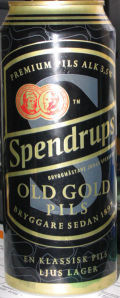Spendrups Old Gold Pils 3.5% - Pilsener
