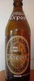 Brauerei Hofmann Export - Dunkel/Tmav