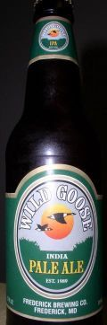 Wild Goose India Pale Ale - India Pale Ale &#40;IPA&#41;
