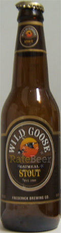 Wild Goose Oatmeal Stout - Sweet Stout