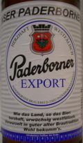 Paderborner Export - Dortmunder/Helles