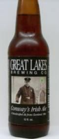 Great Lakes Conways Irish Ale - Irish Ale