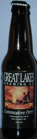 Great Lakes Commodore Perry IPA - India Pale Ale &#40;IPA&#41;