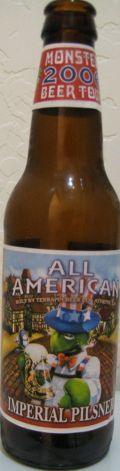 Terrapin All-American Imperial Pilsner - Strong Pale Lager/Imperial Pils