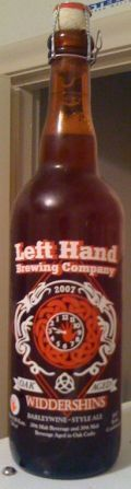 Left Hand Oak Aged Widdershins - Barley Wine