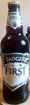 Badger First Gold &#40;Bottle&#41; - Bitter